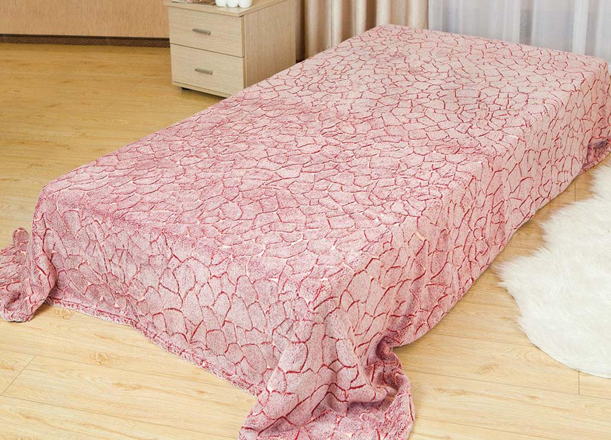 Плед Absolute, цвет: розовый , 150 х 200 см. 6220062200плотность 300 гр/м2