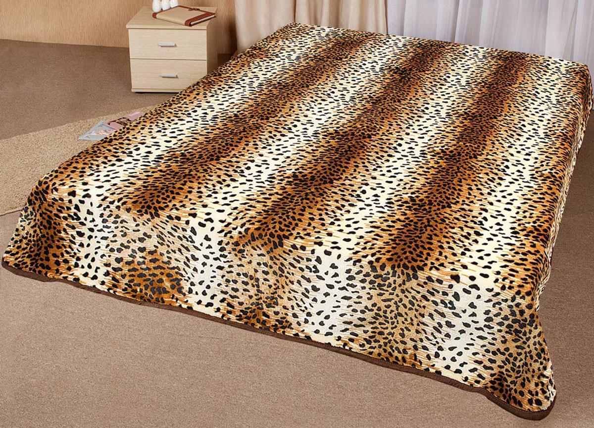 Плед Tamerlan, нестриженый, цвет: коричневый, 200 х 240 см. 6433764337плотность 500 гр/м2