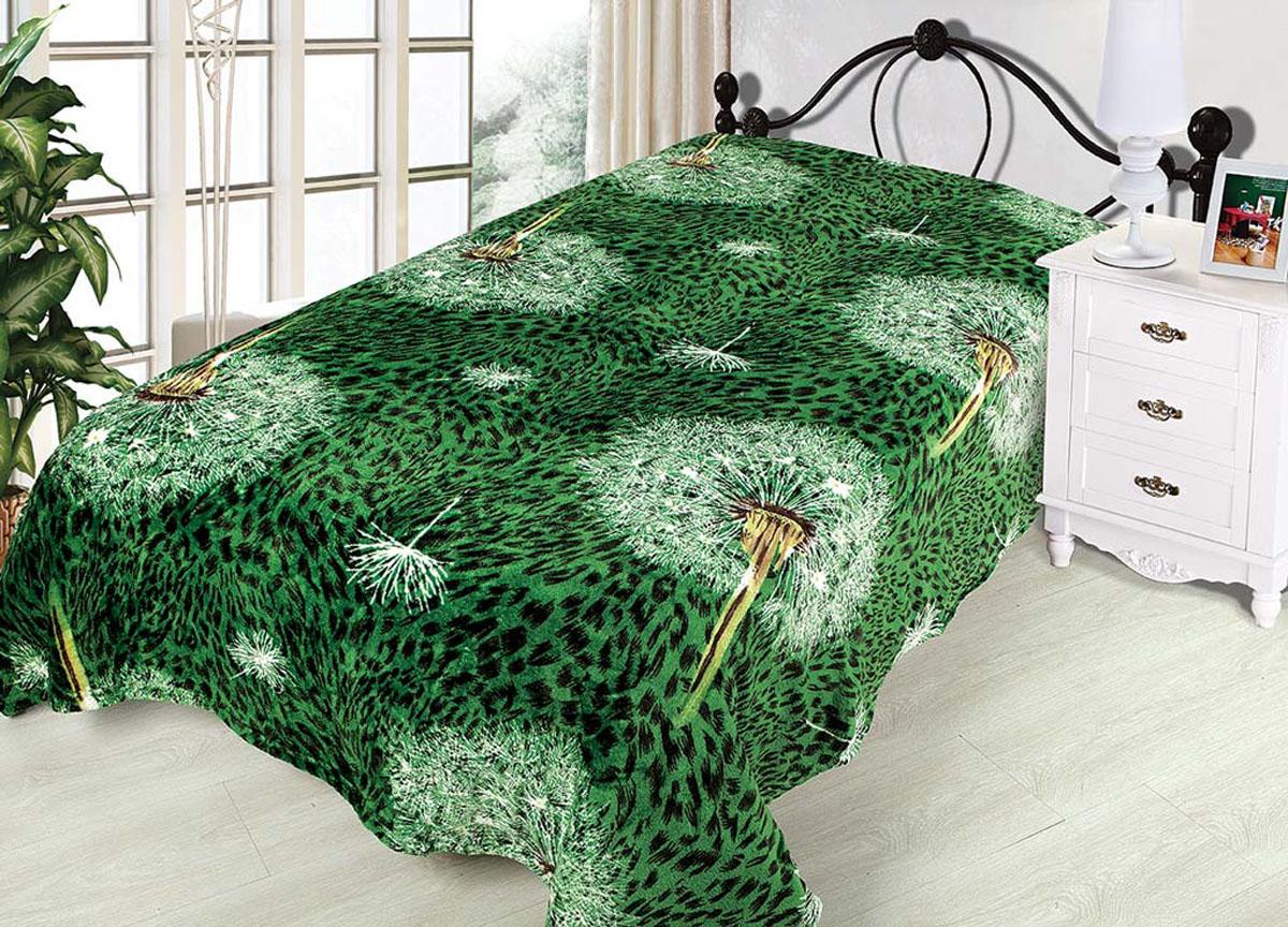 Плед Absolute, цвет: зеленый , 150 х 200 см. 6976669766плотность 300 гр/м2