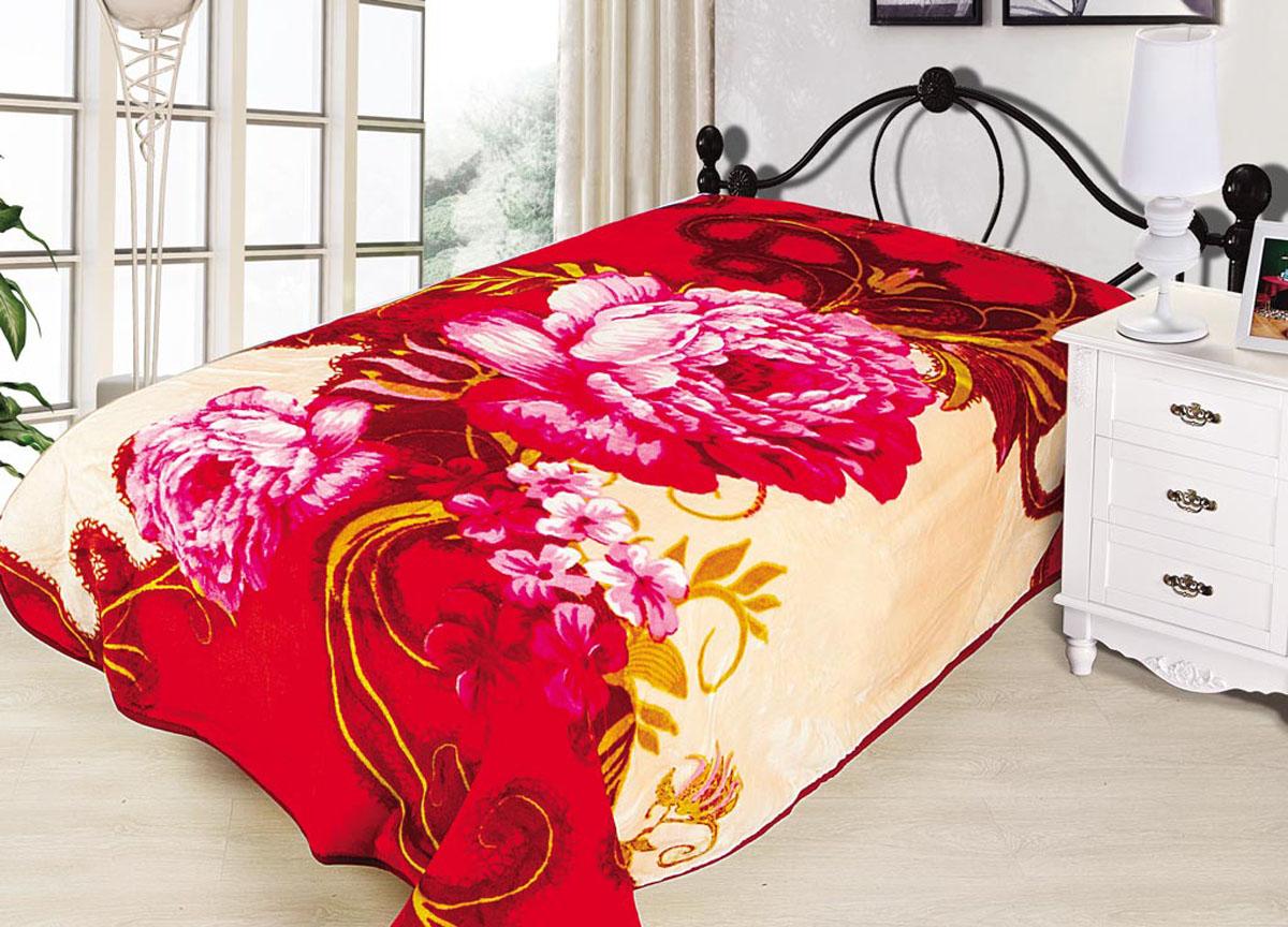 Плед Tamerlan, нестриженый, цвет: розовый, 200 х 240 см. 7037770377плотность 500 гр/м2