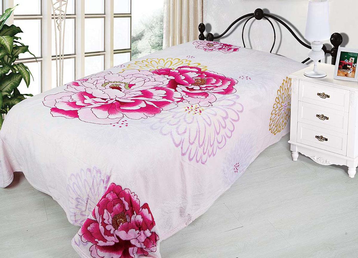Плед Absolute, цвет: розовый , 180 х 230 см. 7226872268плотность 290 гр/м2