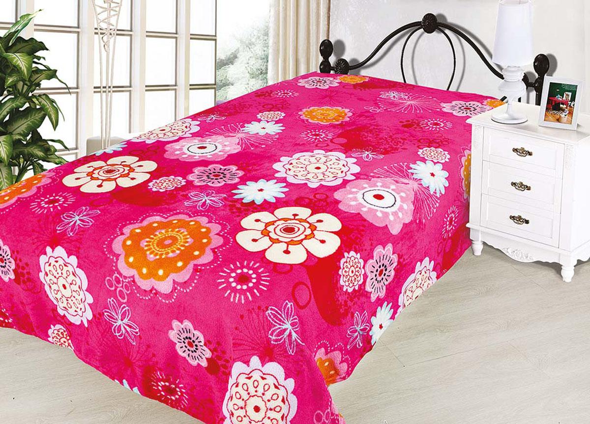 Плед Absolute, цвет: розовый , 150 х 200 см. 7491474914плотность 240 гр/м2