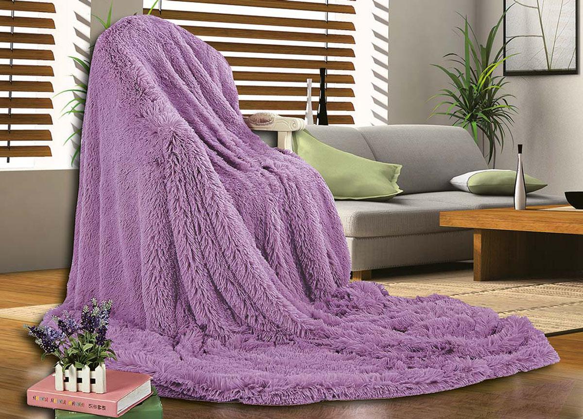 Плед Ameli, цвет: фиолетовый , 160 х 220 см. 7623476234плотность 510 гр/м2