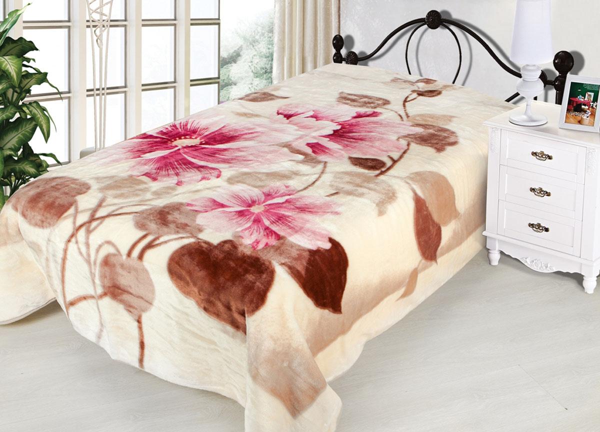 Плед Toledo, нестриженый, цвет: розовый, 200 х 240 см. 7801378013плотность 440 гр/м2