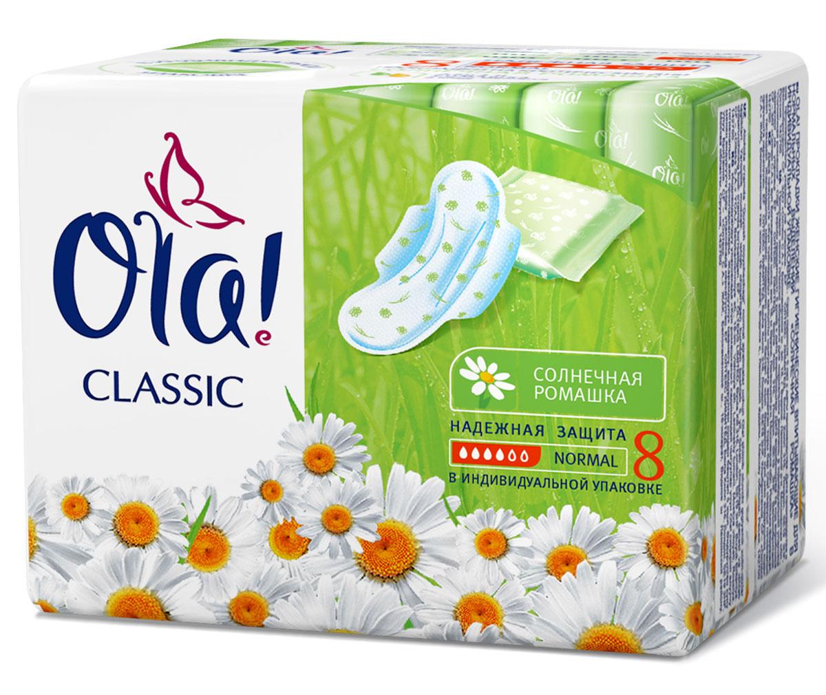 Ola! Wings Classic Normal Singles Прокладки с крылышками