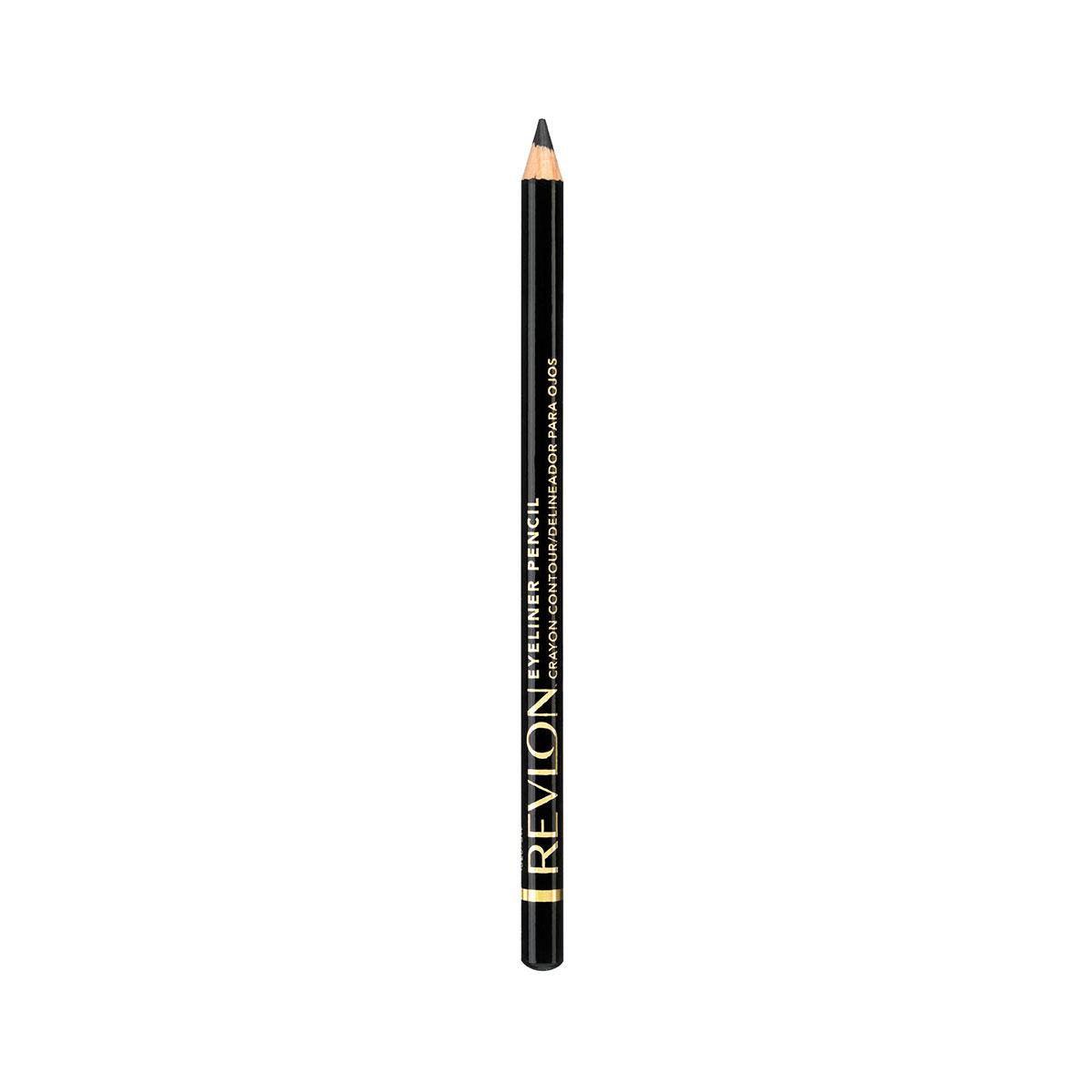 Revlon Карандаш для Глаз Eyeliner Black 01 1 г7210295001Классичесикй контурный карандаш с насыщенным цветом и интенсивной аппликацией. Скользит с лёгкостью карандаша и даёт цвет по интенсивности равный жидкому контуру. Прекрасно сохраняется на веках в течение дня.