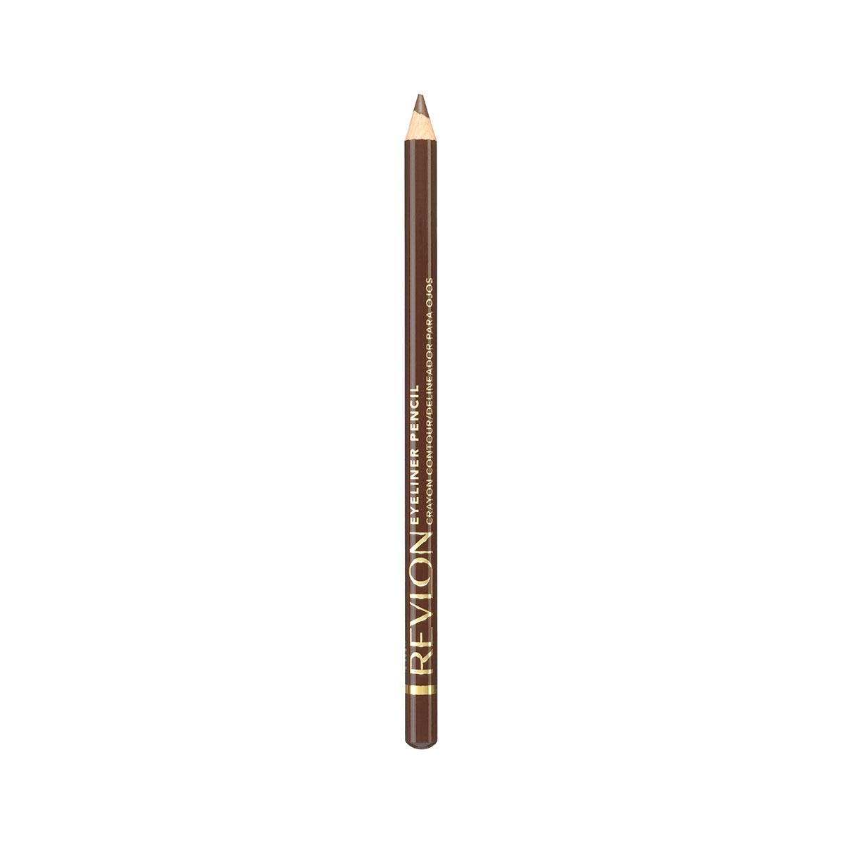 Revlon Карандаш для Глаз Eyeliner Earth brow 02 1 г7210295002Классичесикй контурный карандаш с насыщенным цветом и интенсивной аппликацией. Скользит с лёгкостью карандаша и даёт цвет по интенсивности равный жидкому контуру. Прекрасно сохраняется на веках в течение дня.