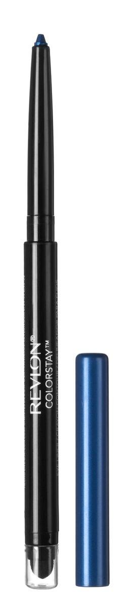 Revlon Карандаш для Глаз Colorstay Eyeliner Sapphire 205 5 г7210685005Colorstay Eyeliner - супер-устойчивый автоматический карандаш-лайнер для глаз. Легко наносится, придавая глазам выразительность. Автоматический карандаш. Технология ColorStay сохраняет глаза красиво очерченными на протяжении В корпусе карандаша встроена точилка.