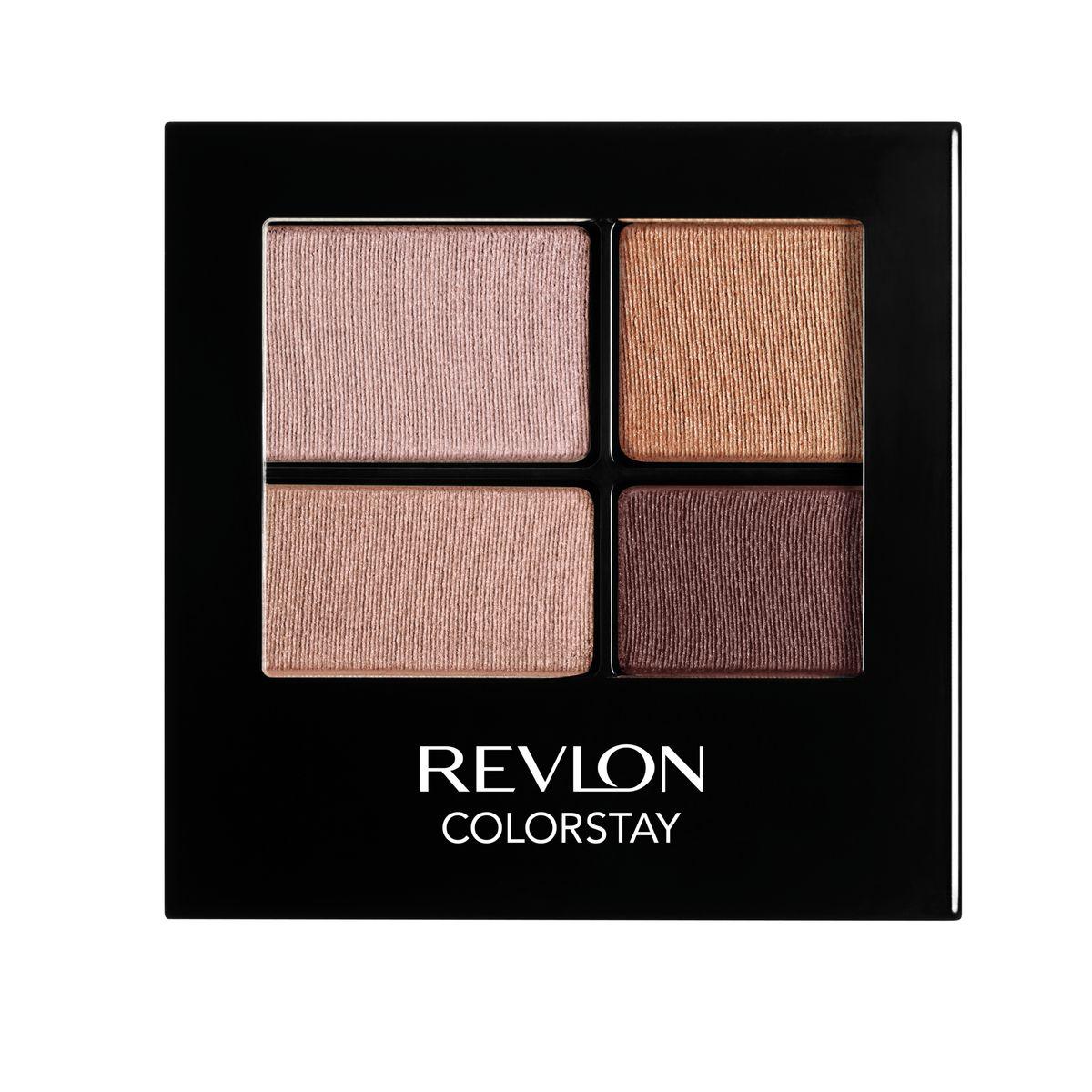 Revlon Тени для Век Четырехцветные Colorstay Eye16 Hour Eye Shadow Quad Decadente 505 42 г7210767002Colorstay 16 Hour Shadow - роскошные тени для век с шелковистой текстурой и невероятно стойкой формулой. Теперь ваш макияж сохранит свой безупречный вид не менее 16 часов! Все оттенки гармонично сочетаются друг с другом и легко смешиваются, позволяя создать бесконечное количество вариантов макияжа глаз: от нежных, естественных, едва заметных до ярких, выразительных, драматических. На оборотной стороне продукта приведена схема нанесения теней.