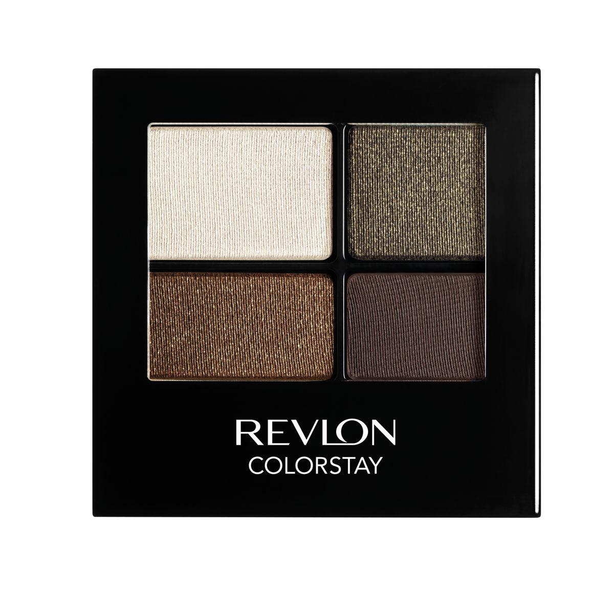 Revlon Тени для Век Четырехцветные Colorstay Eye16 Hour Eye Shadow Quad Adventurous 515 42 г7210767004Colorstay 16 Hour Shadow - роскошные тени для век с шелковистой текстурой и невероятно стойкой формулой. Теперь ваш макияж сохранит свой безупречный вид не менее 16 часов! Все оттенки гармонично сочетаются друг с другом и легко смешиваются, позволяя создать бесконечное количество вариантов макияжа глаз: от нежных, естественных, едва заметных до ярких, выразительных, драматических. На оборотной стороне продукта приведена схема нанесения теней.
