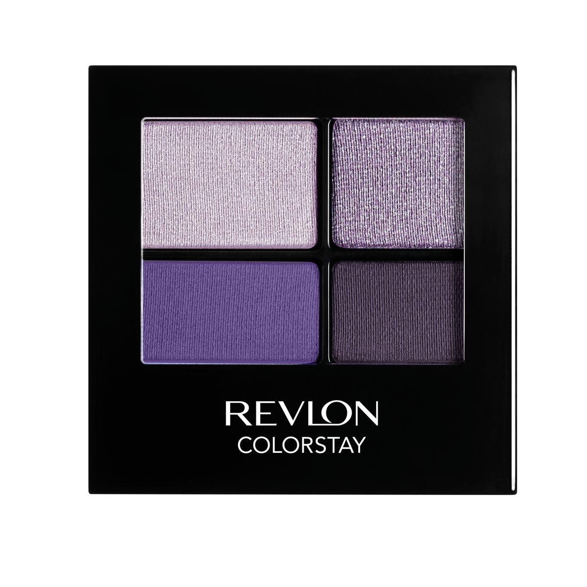 Revlon Тени для Век Четырехцветные Colorstay Eye16 Hour Eye Shadow Quad Seductive 530 42 г7210767007Colorstay 16 Hour Shadow - роскошные тени для век с шелковистой текстурой и невероятно стойкой формулой. Теперь ваш макияж сохранит свой безупречный вид не менее 16 часов! Все оттенки гармонично сочетаются друг с другом и легко смешиваются, позволяя создать бесконечное количество вариантов макияжа глаз: от нежных, естественных, едва заметных до ярких, выразительных, драматических. На оборотной стороне продукта приведена схема нанесения теней.