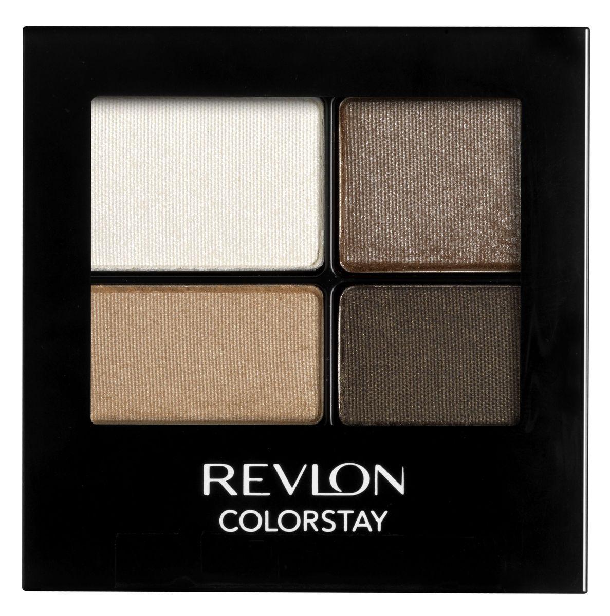 Revlon Тени для Век Четырехцветные Colorstay Eye16 Hour Eye Shadow Quad Moonlit 555 42 г7210767012Colorstay 16 Hour Shadow - роскошные тени для век с шелковистой текстурой и невероятно стойкой формулой. Теперь ваш макияж сохранит свой безупречный вид не менее 16 часов! Все оттенки гармонично сочетаются друг с другом и легко смешиваются, позволяя создать бесконечное количество вариантов макияжа глаз: от нежных, естественных, едва заметных до ярких, выразительных, драматических. На оборотной стороне продукта приведена схема нанесения теней.