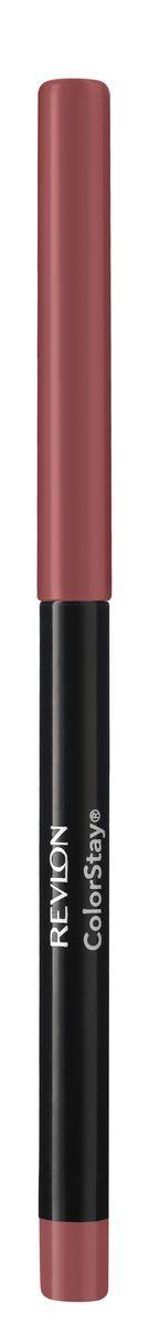 Revlon Карандаш для Губ Colorstay Lip Liner Blush 24 5 г7212706024Контурный карандаш для губ ColorStay создан на основе уникальной технологии SoftFlex, которая предупреждает растекание или смазывание губной помады. Карандаш обладает мягкой текстурой и позволяет быстро прорисовать желаемый контур. В корпусе карандаша встроена точилка.