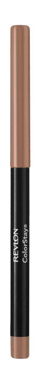 Revlon Карандаш для Губ Colorstay Lip Liner Natural 26 5 г7212706026Контурный карандаш для губ ColorStay создан на основе уникальной технологии SoftFlex, которая предупреждает растекание или смазывание губной помады. Карандаш обладает мягкой текстурой и позволяет быстро прорисовать желаемый контур. В корпусе карандаша встроена точилка.