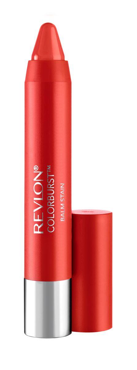 Revlon Бальзам для Губ Colorburst Balm Stain Rendezvous 040 17 г7213526040Colorburst Balm Stain - бальзам для губ в форме карандаша. Атласный эффект. В формуле продукта присутствует перечная мята, которая дает легкий дренажный эффект. Не требуют заточки.