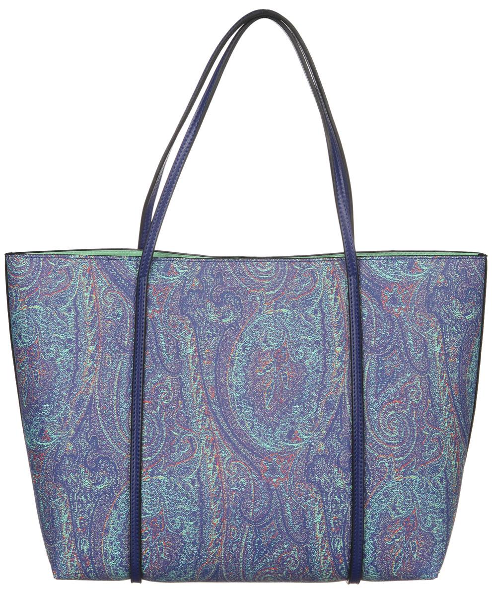 Сумка женская Vitacci, цвет: сиреневый. PDJ-2015-10IPDJ-2015-10 IИзысканная женская сумка Vitacci выполнена из качественной искусственной кожи. Сумка имеет одно большое отделение, которое закрывается на магнитную кнопку. Удобные ручки крепятся к корпусу сумки. Внутри сумка оснащена небольшой сумочкой-кошельком синего цвета, на съемном ремешке-цепочке, которую можно использовать как отдельный аксессуар. Сумочка-кошелек закрывается на молнию, снаружи, на передней части имеется небольшой открытый кармашек. Практичная и стильная сумка прекрасно завершит ваш образ.