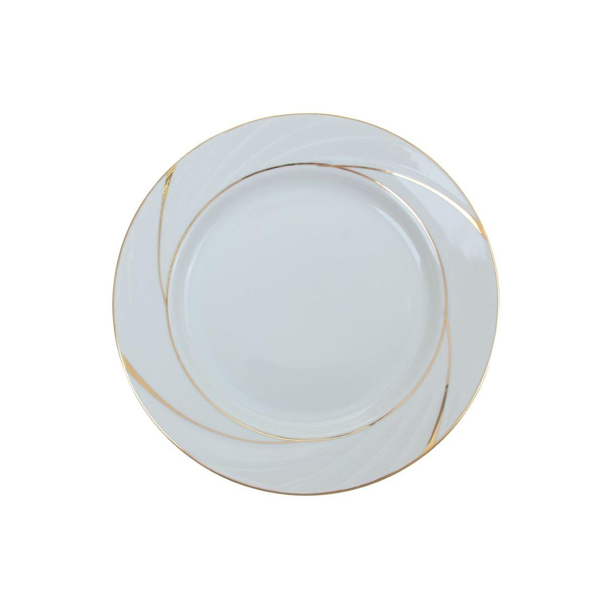 Тарелка мелкая Голубка. Бомонд, диаметр 24 см1035420