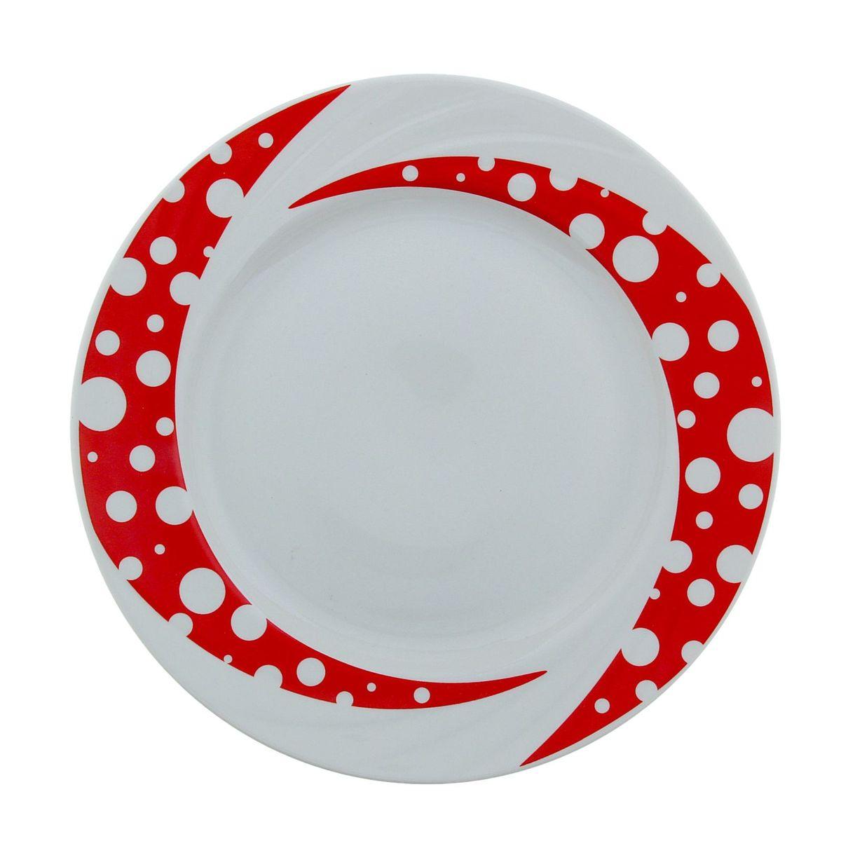 Тарелка мелкая Голубка. Горох, диаметр 24 см508029