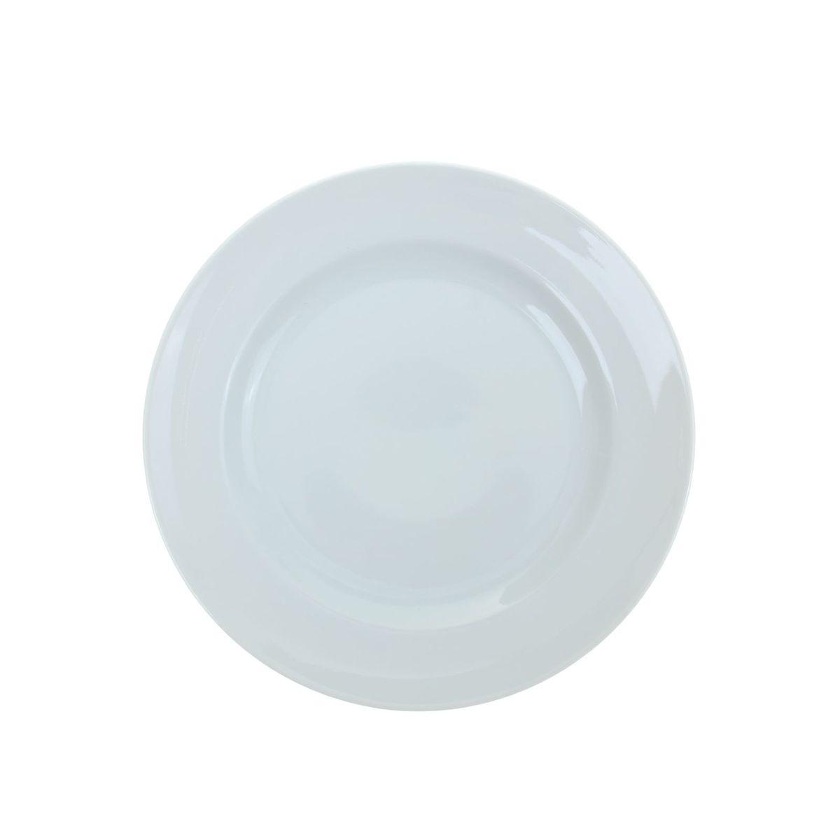 Тарелка мелкая Идиллия. Белье, диаметр 24 см1035427