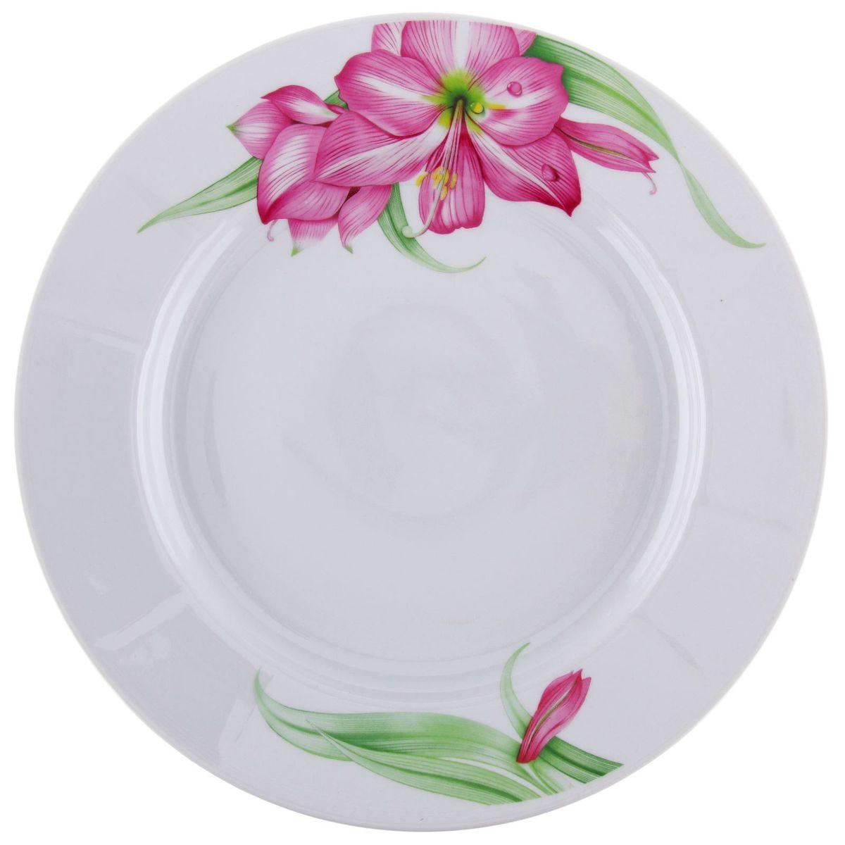 Тарелка мелкая Романс. Романтика, диаметр 24 см1332998