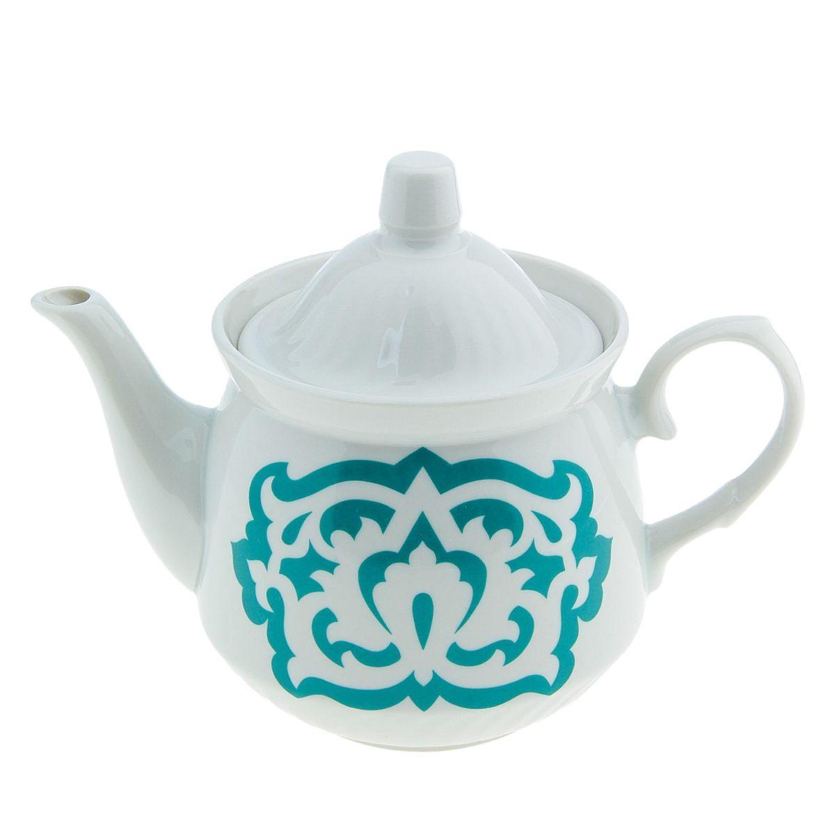 Чайник Кирмаш. Азия, цвет: зеленый, 550 мл507847