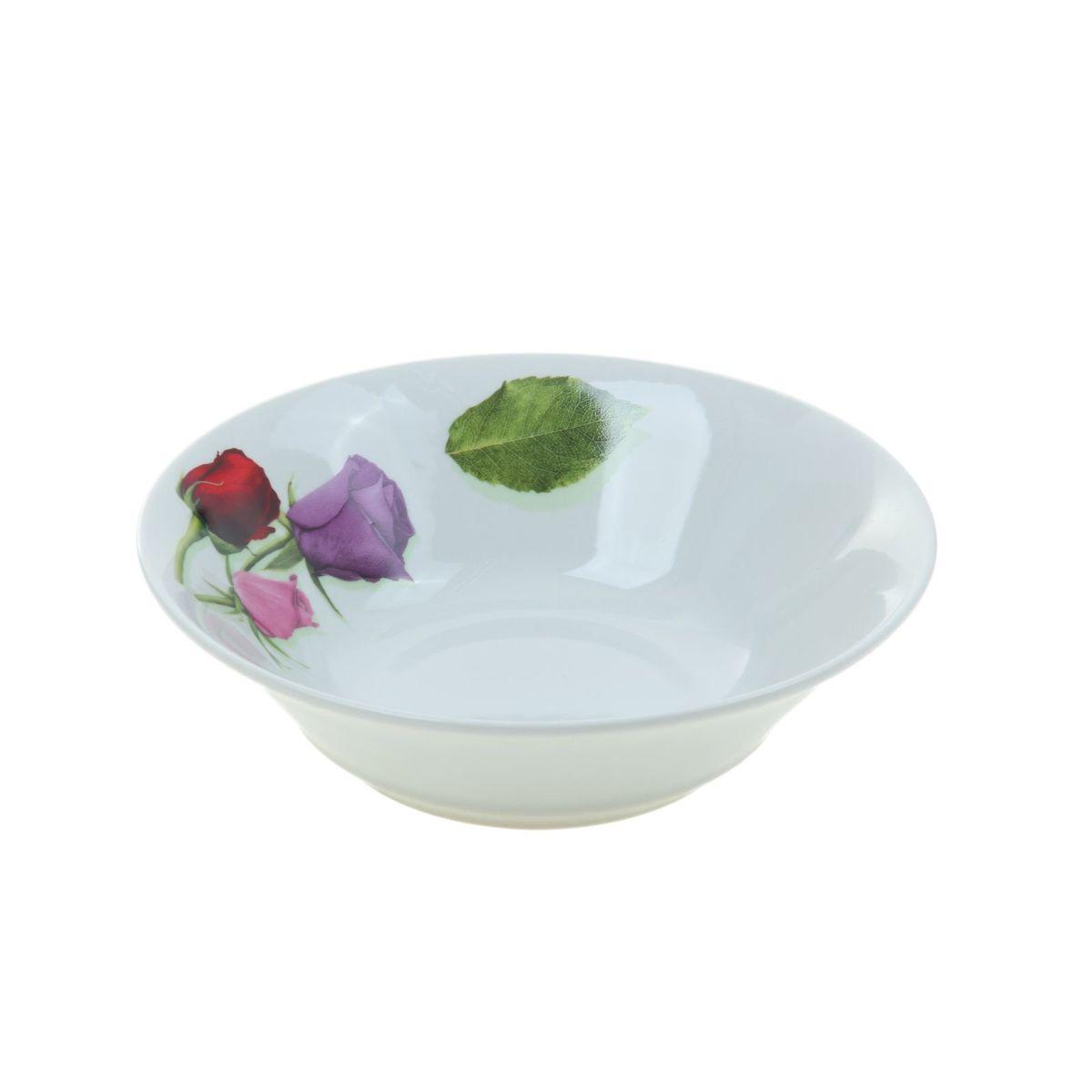 Салатник Идиллия. Королева цветов, 1,15 л1035445Элегантный салатник Идиллия. Королева цветов, изготовленный из высококачественного фарфора, имеет изысканный внешний вид. Яркий дизайн придется по вкусу и ценителям классики, и тем, кто предпочитает утонченность. Салатник Идиллия. Королева цветов идеально подойдет для сервировки стола и станет отличным подарком к любому празднику.