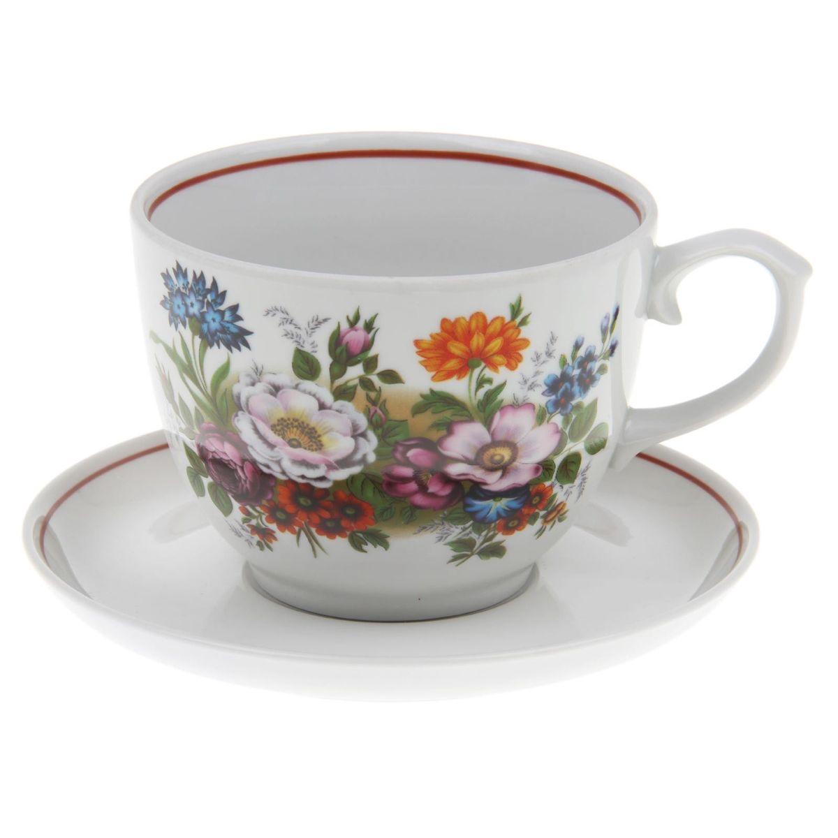 Чайная пара Букет цветов, 2 предмета1303813