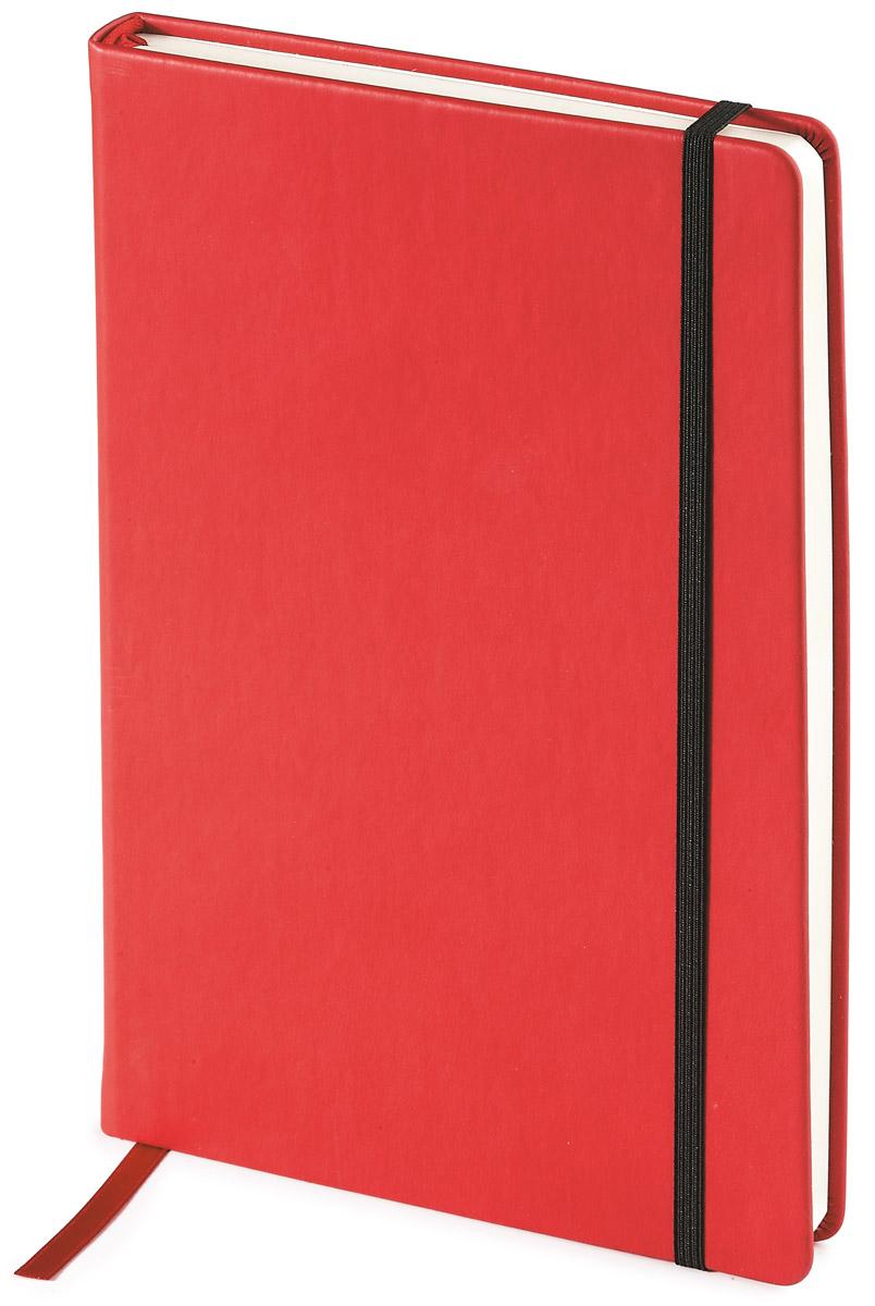 Bruno Visconti Блокнот А5 100 л MEGAPOLIS VELVET цвет красный
