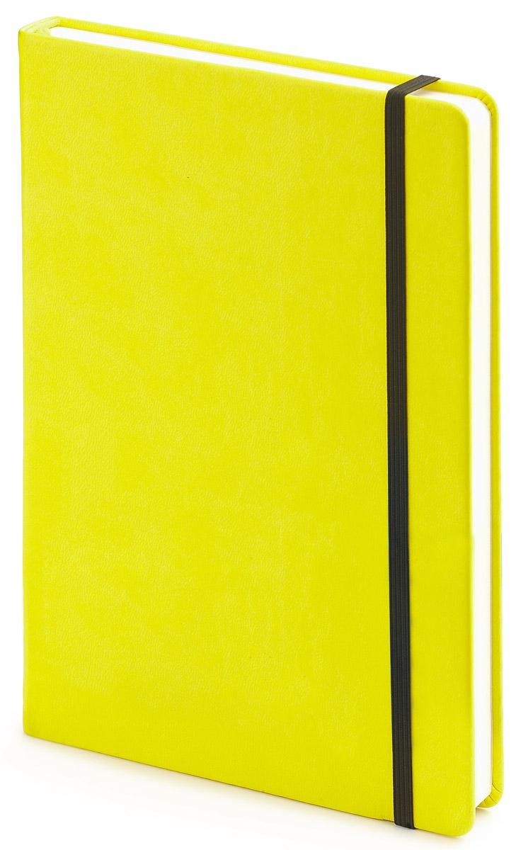 Bruno Visconti Блокнот А5 100 л MEGAPOLIS VELVET цвет желтый