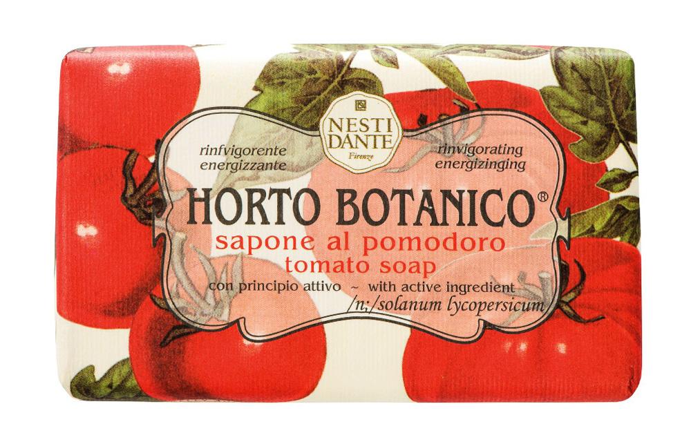 Мыло Nesti Dante Horto Botanico. Томат, 250 г1735206Великолепное растительное мыло премиум-класса Nesti Dante Horto Botanico. Томат изготовлено по старинным рецептам и по традиционной котловой технологии, в составе мыла только натуральные оливковое и пальмовое масло высочайшего качества, для ароматизации использованы органические эфирные масла. Экстракт томата успокаивает и балансирует, мыло прекрасно заботится о коже, хорошо мылится и очищает загрязнения. Благодаря содержанию натуральных компонентов, кожа становится нежной, увлажненной и упругой. Изысканная флорентийская бумага, в которую завернуто мыло, расписана акварелью, на каждом кусочке мыла выгравирована надпись With Love And Care (С любовю и заботой).