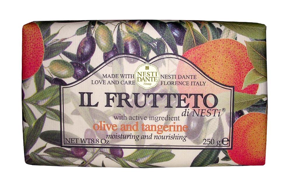 "Мыло Nesti Dante ""Il Frutteto. Оливковое масло и мандарин"", 250 г 1715206"