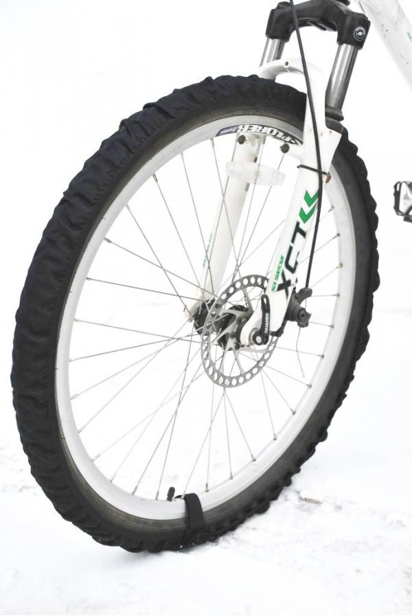 Велотапки AG-brand. Размер 18-24, цвет: черныйAG-Cycling shoes-18-24Чехлы на колеса велосипеда. Необходимый аксессуар для хранения велосипеда в домашних условия. Легко и быстро одеваются/снимаются, крепятся с помощью липучки. Защищают от грязи пол в вашей квартиры. Прекрастный аксессуар. который облегчит жизнь всем велосипедистам, вынужденным хранить велосипеды в квартире.