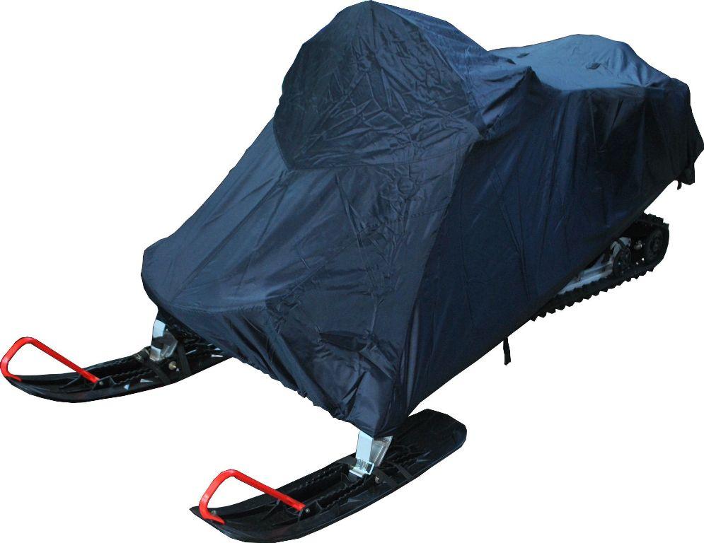 Чехол AG-brand для снегохода Polaris IQ 600 WT, цвет: синийAG-POL-SMB-IQ600-SC-240Чехол для хранения снегохода. Имеет утягивающую резинку по нижней кромке чехла, изготовлен из влагоотталкивающей ткани плотностью 240d