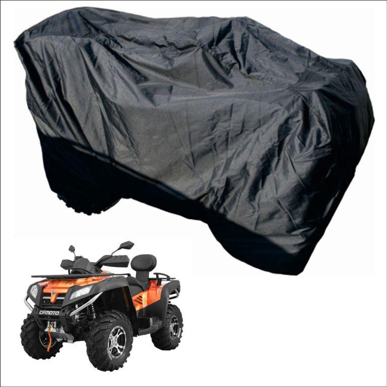 Чехол транспортировочный AG-brand для ATV универсальный (XL), цвет: черныйAG-Uni-ATV-DBL-TCПодходит для двухместных квадроциклов. Транспортировка и хранение квадроцикла. Изготовлены из высокопрочной плотной тентовой ткани с высоким показателем водоупорности. Снизу установлены стропы для утяжки чехла на квадроцикле