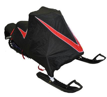 Чехол транспортировочный AG-brand для снегохода Yamaha SRViper X-TX SE, цвет: черный, красныйAG-YAM-SMB-Viper-TCЧехол для транспортировки изготовлен из высокопрочной ткани с водоотталкивающей пропиткой. Чехол имеет светоотражающий кант для улучшения видимости в темноте. Резинки в передней и задней части чехла позволяют быстро и легко одеть чехол на технику. Чехол крепится к снегоходу в трех местах при помощи утягивающих строп (входят в комплект). Чехол закрывает снегоход вместе с амортизаторами и имеет клапана для выхода избыточного давления воздуха. На чехле установлена молния для быстрого доступа к заливной горловине бака.