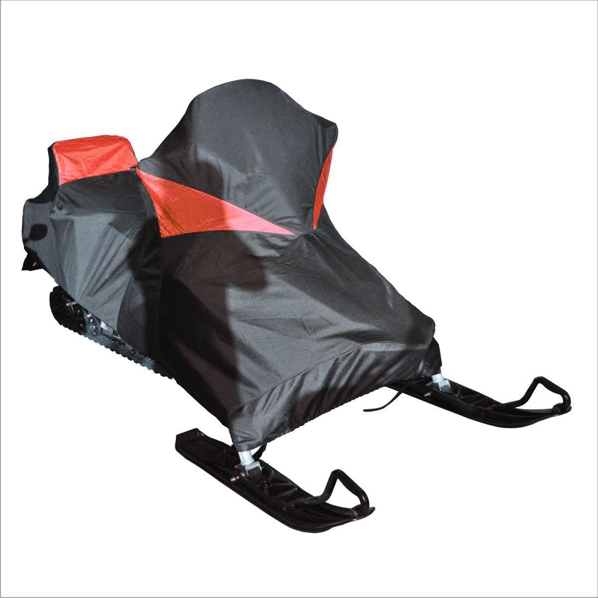 Чехол транспортировочный AG-brand для снегохода Yamaha Venture RS, цвет: черный, красныйAG-YAM-SMB-VRS-TCЧехол для транспортировки изготовлен из высокопрочной ткани с водоотталкивающей пропиткой. Чехол имеет светоотражающий кант для улучшения видимости в темноте. Резинки в передней и задней части чехла позволяют быстро и легко одеть чехол на технику. Чехол крепится к снегоходу в трех местах при помощи утягивающих строп (входят в комплект). Чехол закрывает снегоход вместе с амортизаторами и имеет клапана для выхода избыточного давления воздуха. На чехле установлена молния для быстрого доступа к заливной горловине бака.