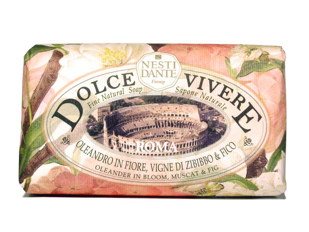 Мыло Nesti Dante Dolce Vivere. Рим, 250 г1317106Великолепное растительное мыло премиум-класса Nesti Dante Dolce Vivere. Рим изготовлено по старинным рецептам и по традиционной котловой технологии, в составе мыла только натуральные оливковое и пальмовое масло высочайшего качества, для ароматизации использованы органические эфирные масла. Мыло Dolce Vivere переносит вас в самые очаровательные места Италии, прекрасные и вдохновляющие виды заливов, городов и деревень, полных очарования, культуры и истории. Рим - взрывная смесь сладкого аромата и сахарных нот создает атмосферу вечной молодости и красоты. Почувствуйте теплое прикосновение цветов олеандра вместе с мускатом и инжиром. Изысканная флорентийская бумага, в которую завернуто мыло, расписана акварелью, на каждом кусочке мыла выгравирована надпись With Love And Care (С любовю и заботой). Характеристики: Вес: 250 г. Производитель: Италия. Товар сертифицирован. Nesti Dante - одна из немногих...
