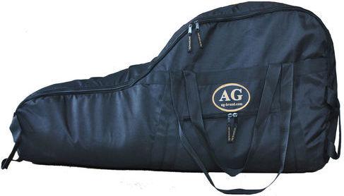 Сумка для лодочного мотора AG-brand Эконом 2 т, 6 л.с., цвет: черныйAG-Uni-OM-Eco-2T/6hpПереноска и хранение лодочного мотора. Сумка изготовлена из ткани плотностью 600den с влагоотталкивающей пропиткой. С внутренней стороны сумка выполнена из ткани с пвх покрытием и имеет антиударные вставки толщиной 5мм из вспененного наполнителя. Сумка на прочной двухзамковой молнии и имеет ручки для переноски мотора (в руках и на плече).