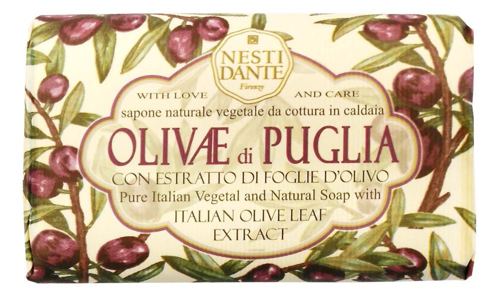 Nesti Dante Мыло Olivae di Puglia - Олива из Апулии 150г1327106Оливковое дерево – это символ жизни, мудрости, процветания, мира и долголетия. В знак признания к этому замечательному дереву Nesti Dante создал три вида мыла, вдохновленные сортами оливок из разных регионов Италии. Мыло Олива из Апулии