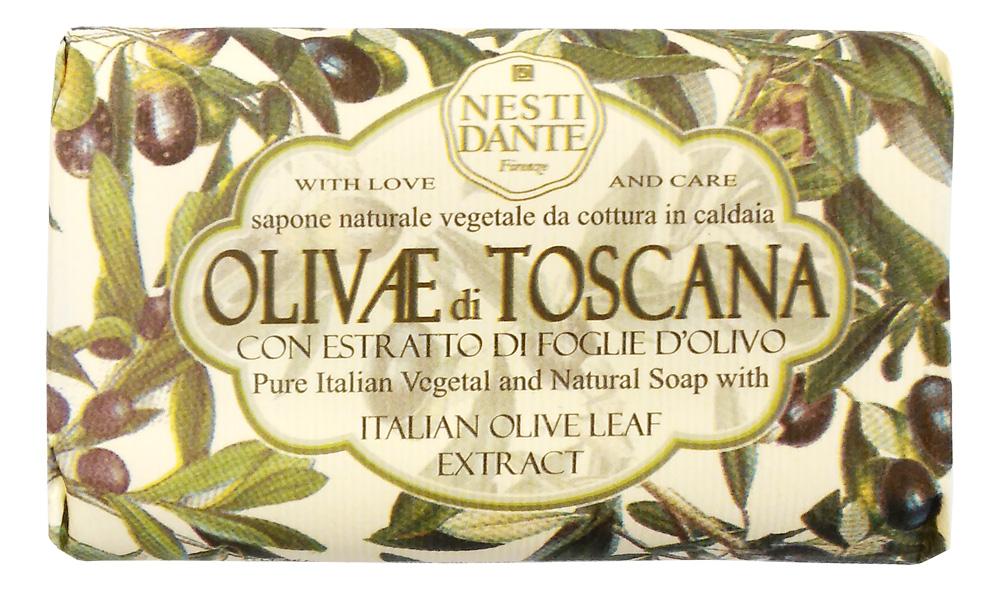 Nesti Dante Мыло Olivae di Toscana - Тосканская олива 150г1326106Оливковое дерево – это символ жизни, мудрости, процветания, мира и долголетия. В знак признания к этому замечательному дереву Nesti Dante создал три вида мыла, вдохновленные сортами оливок из разных регионов Италии.