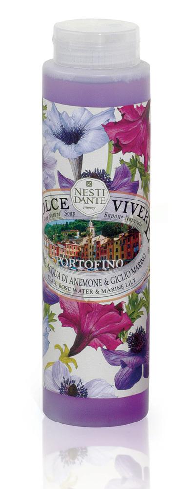 Nesti Dante Гель для душа Portofino, 300 мл5039112Гель для душа Portofino подарит вам ощущение роскоши и блаженства во время купания в ванной. Входящие в состав природные компоненты создадут умиротворенную, расслабляющую атмосферу. Гармония розовой воды и морской лилии в сочетании с экстрактами льна и розы успокаивают и питают чувствительную кожу. Товар сертифицирован.