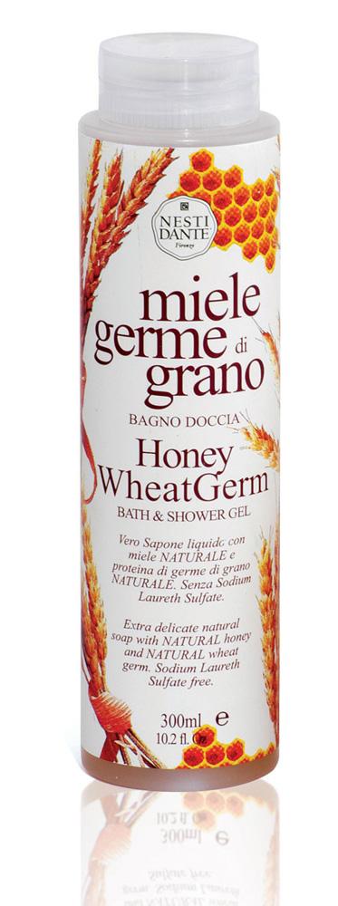 "Nesti Dante ���� ��� ���� � ����� ""Honey Wheat Germ"", � ����� � ���������� �������, 300 ��"