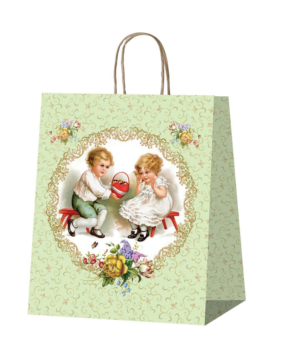 Пакет подарочный Даринчи, ручной работы, №1Пакет 1Бумажный подарочный пакет