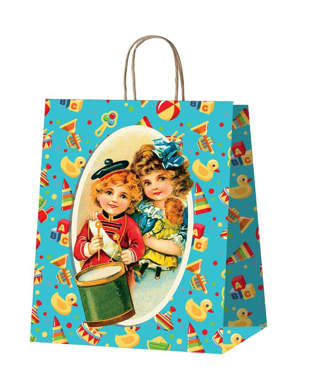 Пакет подарочный Даринчи, ручной работы, №13Пакет 13Бумажный подарочный пакет