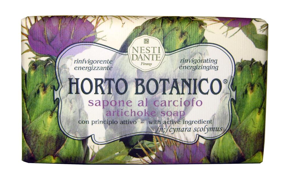 Nesti Dante Мыло Horto Botanico. Артишок, 250 г1731206Великолепное растительное мыло премиум-класса Nesti Dante Horto Botanico. Артишок изготовлено по старинным рецептам и по традиционной котловой технологии, в составе мыла только натуральные оливковое и пальмовое масло высочайшего качества, для ароматизации использованы органические эфирные масла. Экстракт артишока оздоравливает и бодрит, мыло прекрасно заботится о коже, хорошо мылится и очищает загрязнения. Благодаря содержанию натуральных компонентов, кожа становится нежной, увлажненной и упругой. Изысканная флорентийская бумага, в которую завернуто мыло, расписана акварелью, на каждом кусочке мыла выгравирована надпись With Love And Care (С любовью и заботой). Товар сертифицирован.