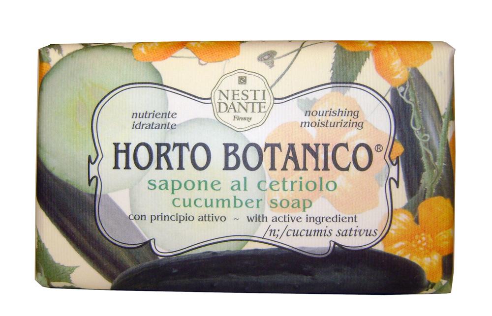Nesti Dante Мыло Horto Botanico. Огурец, 250 г1733206Великолепное растительное мыло премиум-класса Nesti Dante Horto Botanico. Огурец изготовлено по старинным рецептам и по традиционной котловой технологии, в составе мыла только натуральные оливковое и пальмовое масло высочайшего качества, для ароматизации использованы органические эфирные масла. Экстракт огурца питает и увлажняет, мыло прекрасно заботится о коже, хорошо мылится и очищает загрязнения. Благодаря содержанию натуральных компонентов, кожа становится нежной, увлажненной и упругой. Изысканная флорентийская бумага, в которую завернуто мыло, расписана акварелью, на каждом кусочке мыла выгравирована надпись With Love And Care (С любовью и заботой). Товар сертифицирован.