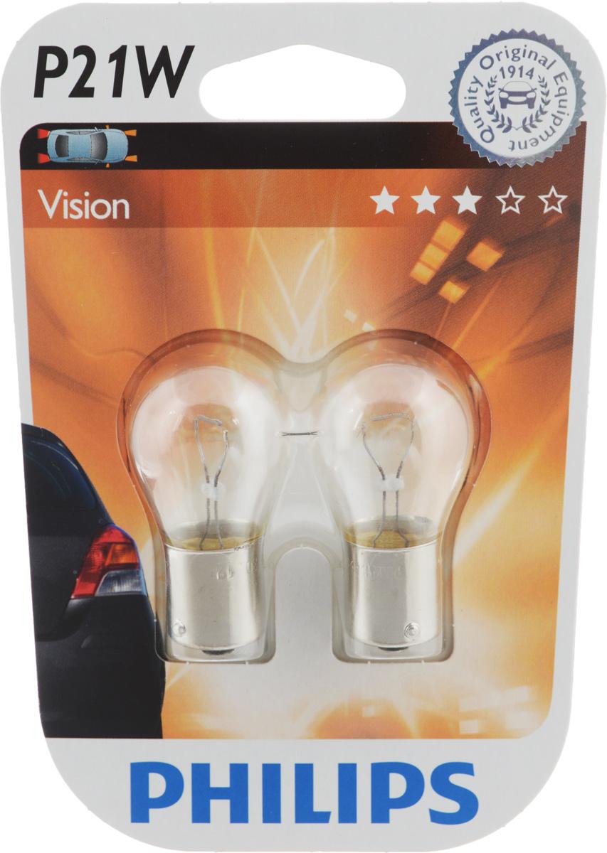 Лампа сигнальная автомобильная Philips, цоколь P21W, 21 Вт, 12В, 2 шт12498B2 (бл.)Лампы Philips для стоп-сигналов и поворотников излучают яркий свет, обеспечивая максимальную видимость и безопасность на дороге благодаря высокой мощности и быстрому отклику. Лампы производятся из высококачественных материалов и соответствуют самым высоким стандартам, чтобы обеспечить максимальную безопасность и комфортное вождение для автомобилистов. Напряжение: 12В.