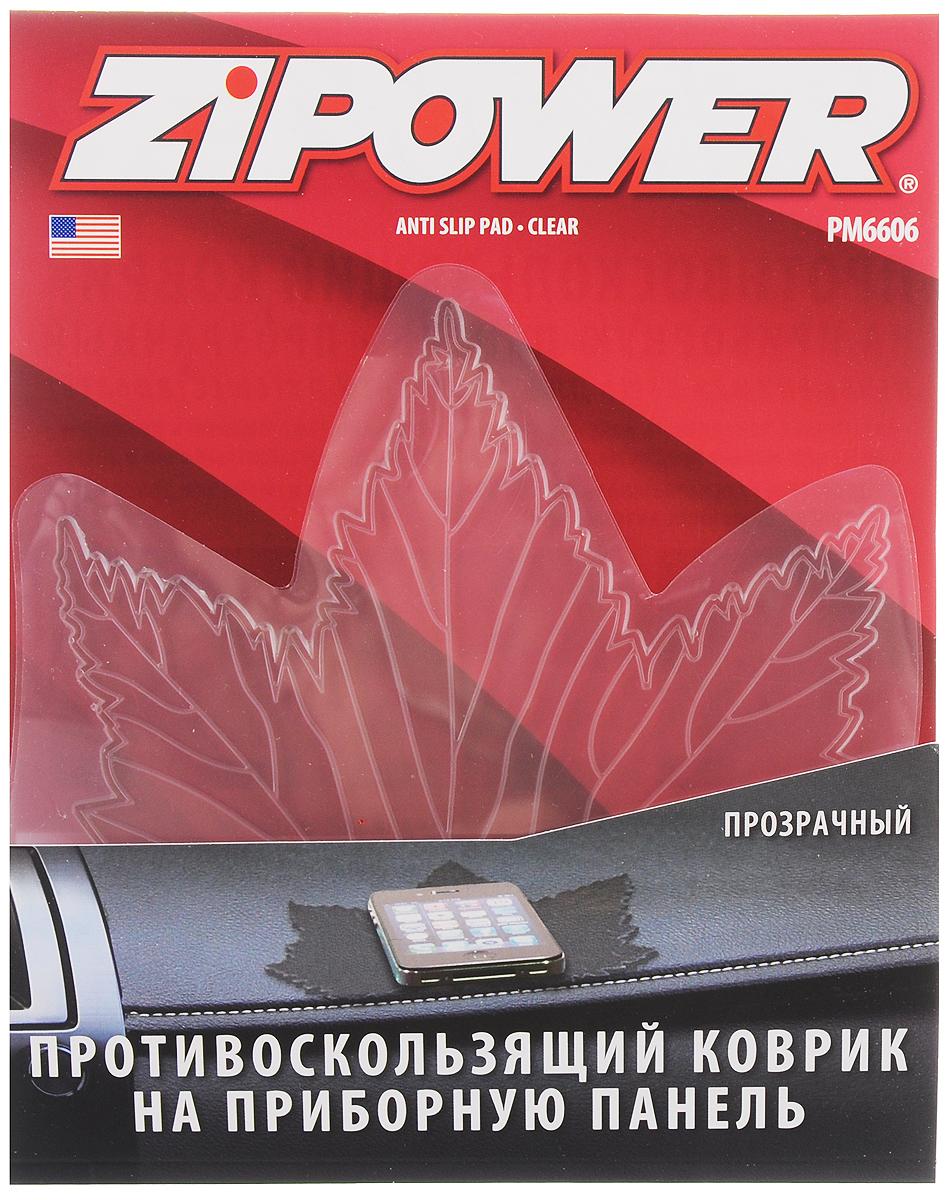 "Противоскользящий коврик на приборную панель ""Zipower"", 13 х 13 см ( PM 6606 )"