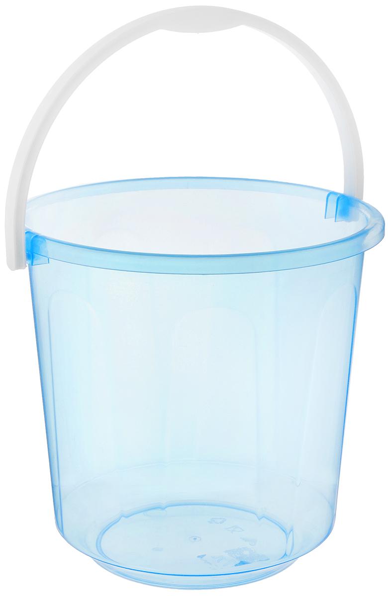 Ведро Альтернатива Хозяюшка, цвет: прозрачный, голубой, 7 лМ1205_голубойВедро Альтернатива Хозяюшка изготовлено из высококачественного пластика. Оно легче железного и не подвержено коррозии. Для удобства использования ведро оснащено пластиковой ручкой. Ведро предназначено для бытовых нужд. Диаметр ведра: 24 см. Высота стенок: 23,5 см.