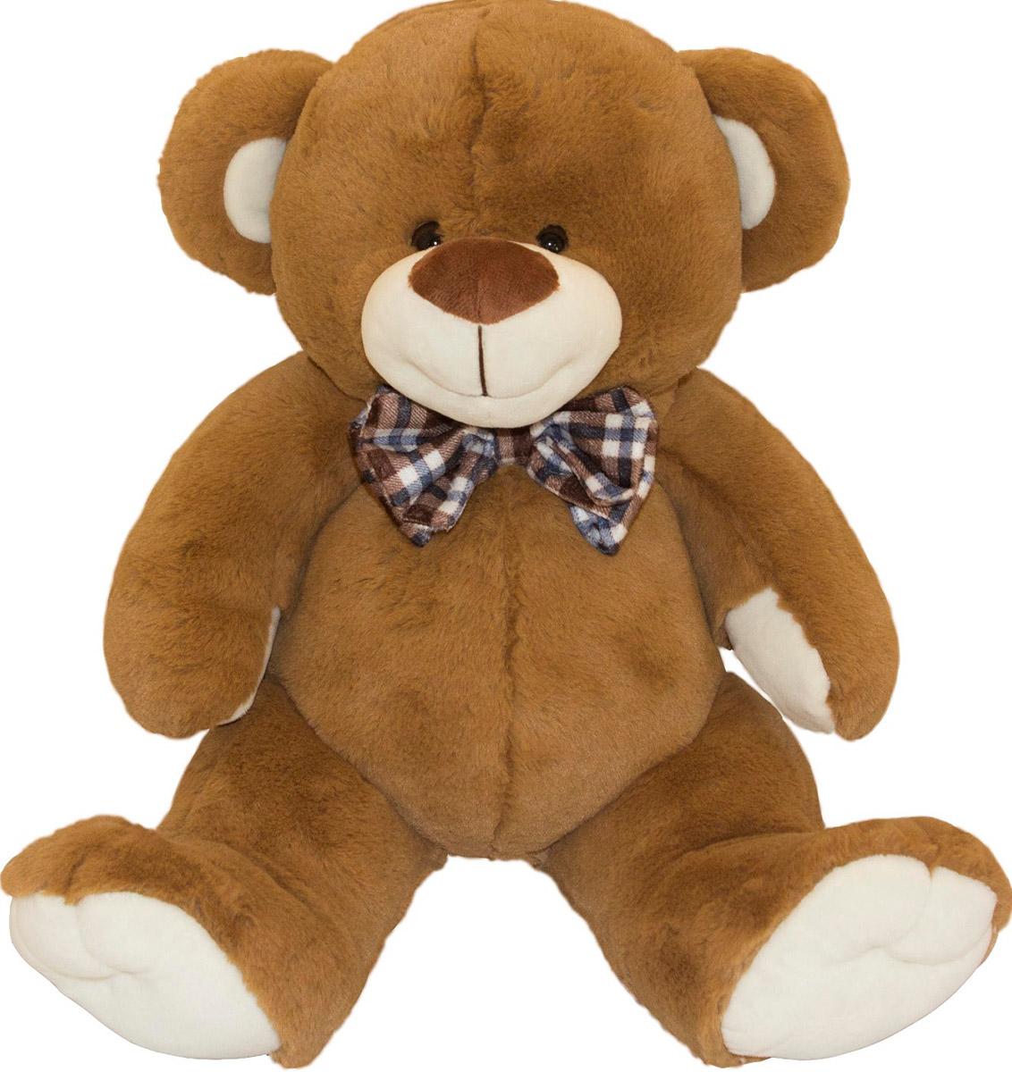 Button Blue Мягкая игрушка Мишка Марвин 34 см40-15-4133-6Мягкая игрушка Мишка Марвин, выполнена в виде очаровательного медвежонка. Игрушка изготовлена из плюша светло-коричневого цвета. У Марвина пластиковые черные глазки, милая улыбка и коричневый бантик в клеточку на шее. Удивительно мягкая игрушка принесет радость и подарит своему обладателю мгновения нежных объятий и приятных воспоминаний. Великолепное качество исполнения делают эту игрушку чудесным подарком к любому празднику. Трогательная и симпатичная, она непременно вызовет улыбку у детей и взрослых.